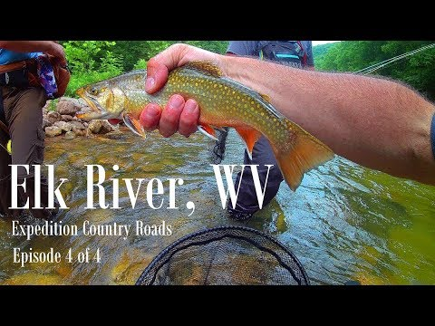 WBD - Fly Fishing Elk River WV Expedition Country Roads Episode 4  Euro Nymphing, Tightline Nymphing