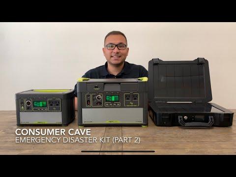 Survival Kit/Emergency Kit - Goal Zero Solar Panels & Goal Zero 400 & 1000 Portable Generators