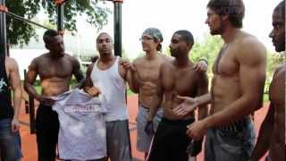 BARSTARZZ training in Moscow, Russia [WorkOut24]