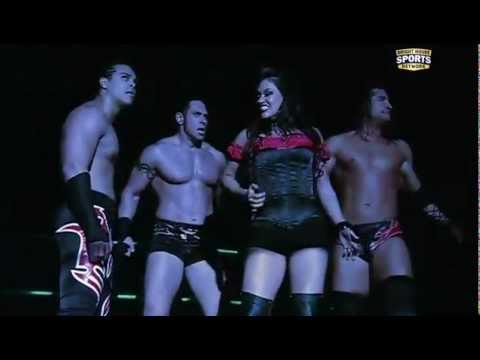 11/13/2011 FCW - The Ascension w/ Raquel Diaz vs. Jason Jordan, Mike Dalton & Colin Cassidy