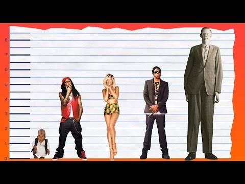 How Tall Is Lil Wayne? - Height Comparison!
