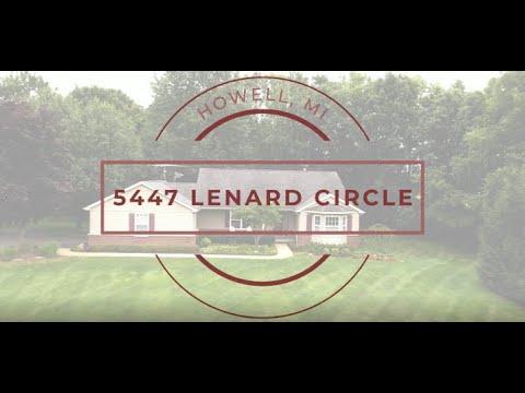 New Listing: 5447 Lenard Circle