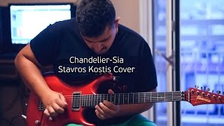 Chandelier - Sia (Guitar cover by Stavros Kostis)