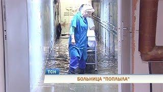 В стене детской больницы в Перми образовалась трещина
