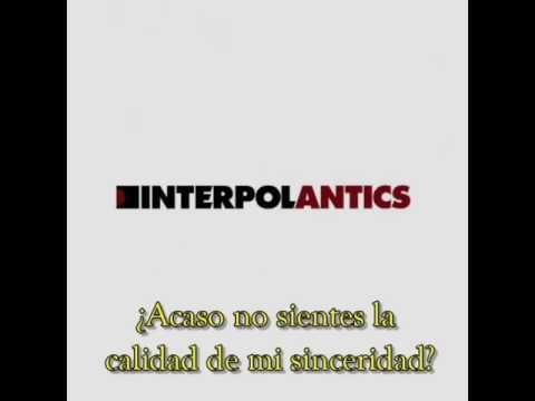 Interpol - Not Even Jail (Subtitulado en Español)