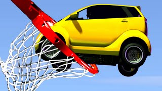 BASKETBALL DUNK THE PANTO! (GTA 5 Minigames)