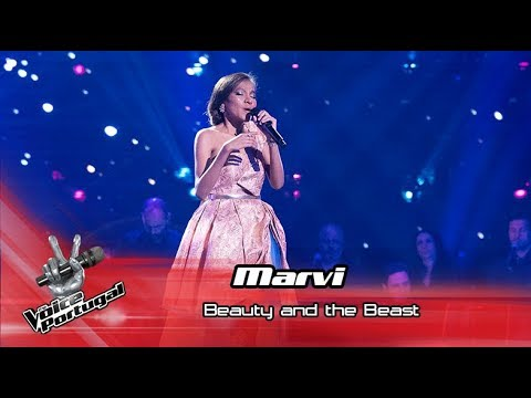 """Marvi - """"Beauty and the Beast""""  Gala  The Voice Portugal"""