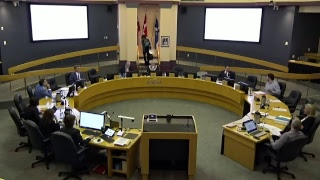 Youtube video::July 24, 2018 Council Closed Session Public Meeting