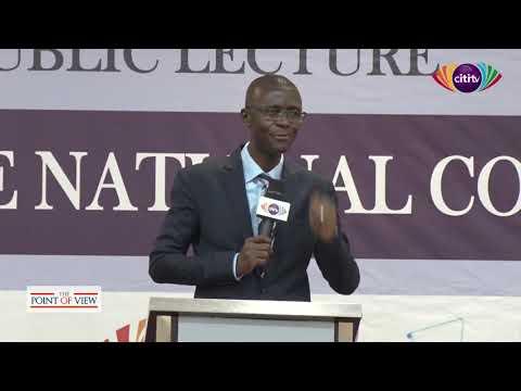 #AvleSpeaks: Bernard Avle delivers lecture