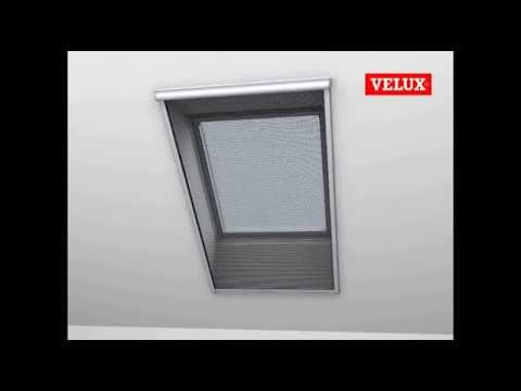 velux mosquito net installation youtube. Black Bedroom Furniture Sets. Home Design Ideas