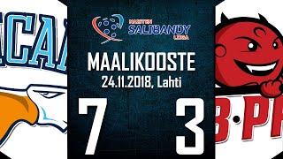 Pelicans SB - SB-Pro | 24.11.2018 | MAALIKOOSTE