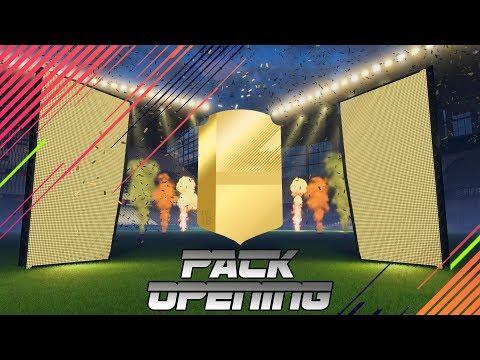 +90 DE MEDIA IN A PACK !!! PRIMER PACK OPENING EN FIFA 18 !!!