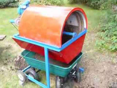 Tamisage de compost doovi - Faire un tamis maison ...