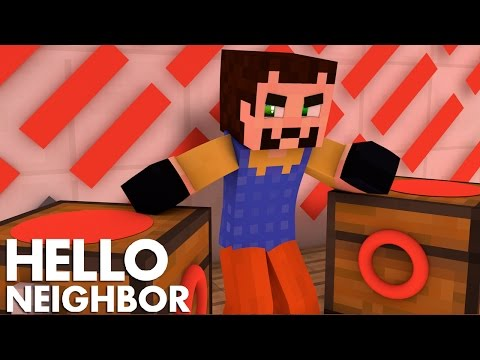 Minecraft Hello Neighbor - Is The Neighbor The Devil? (Minecraft Roleplay)