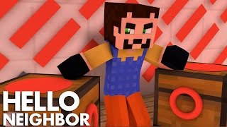 Minecraft Hello Neighbor - Is The Neighbor The Devil? (Minecraft Roleplay)