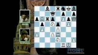 Anand vs Kasparov - Classic 1990s Footage - GM Daniel King (Grandmaster Magazine)