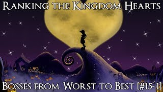 Ranking The Kingdom Hearts Bosses From Worst To Best [#15 1]