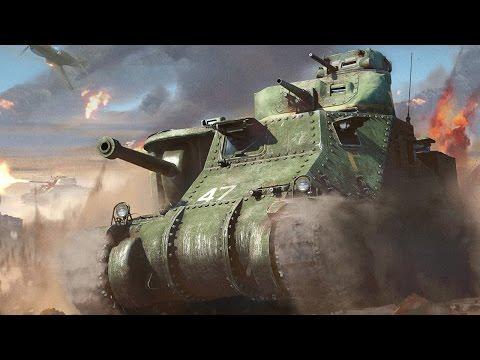 Как в вар тандер стрелять из пулемета на танке