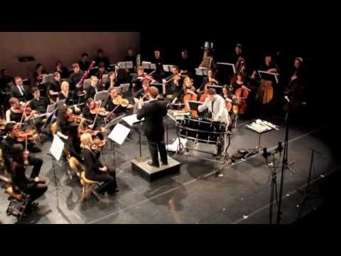 Gabriel Prokofiev Concerto for Bass Drum & Orchestra, ft. Joby Burgess + Chicago Composers Orchestra