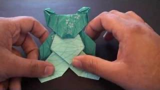 Origami Daily - 183: Teddy Bear (valentine's Day) - Tcgames [hd]