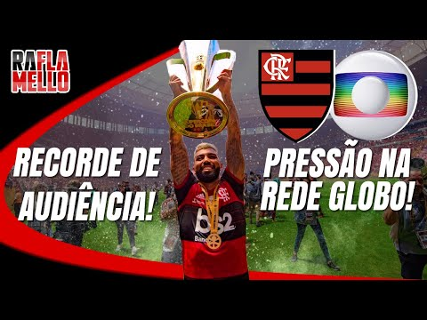 TV GLOBO FICA IMPRESSIONADA COM RECORDE DE AUDIÊNCIA NA TRANSMISSÃO DA FINAL!
