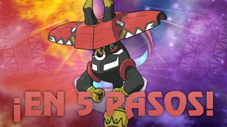 POKÉMON SOL & LUNA: ¡TAPU BULU EN 5 PASOS! (Estrategia Pokémon SINGLES & VGC)