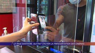 Yvelines | Le pass sanitaire, qui fait chuter la fréquentation des cinémas.