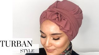 Ruffled #turban Style I kolay türban modeli