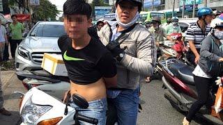 Những cuộc truy đuổi cướp của hiệp sĩ Sài Gòn Như Phim Hành Động