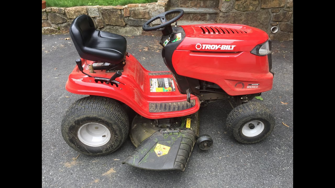 Troy-Bilt Bronco Automatic Yard Mower Review ★★★★★ Troy-Bilt Bronco Review