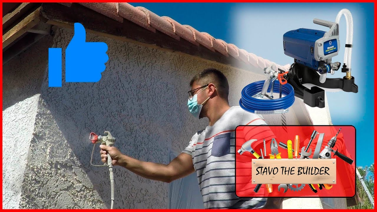 Como pintar una casa por fuera paredes del exterior wall exterior painting youtube - Pintar exterior casa ...