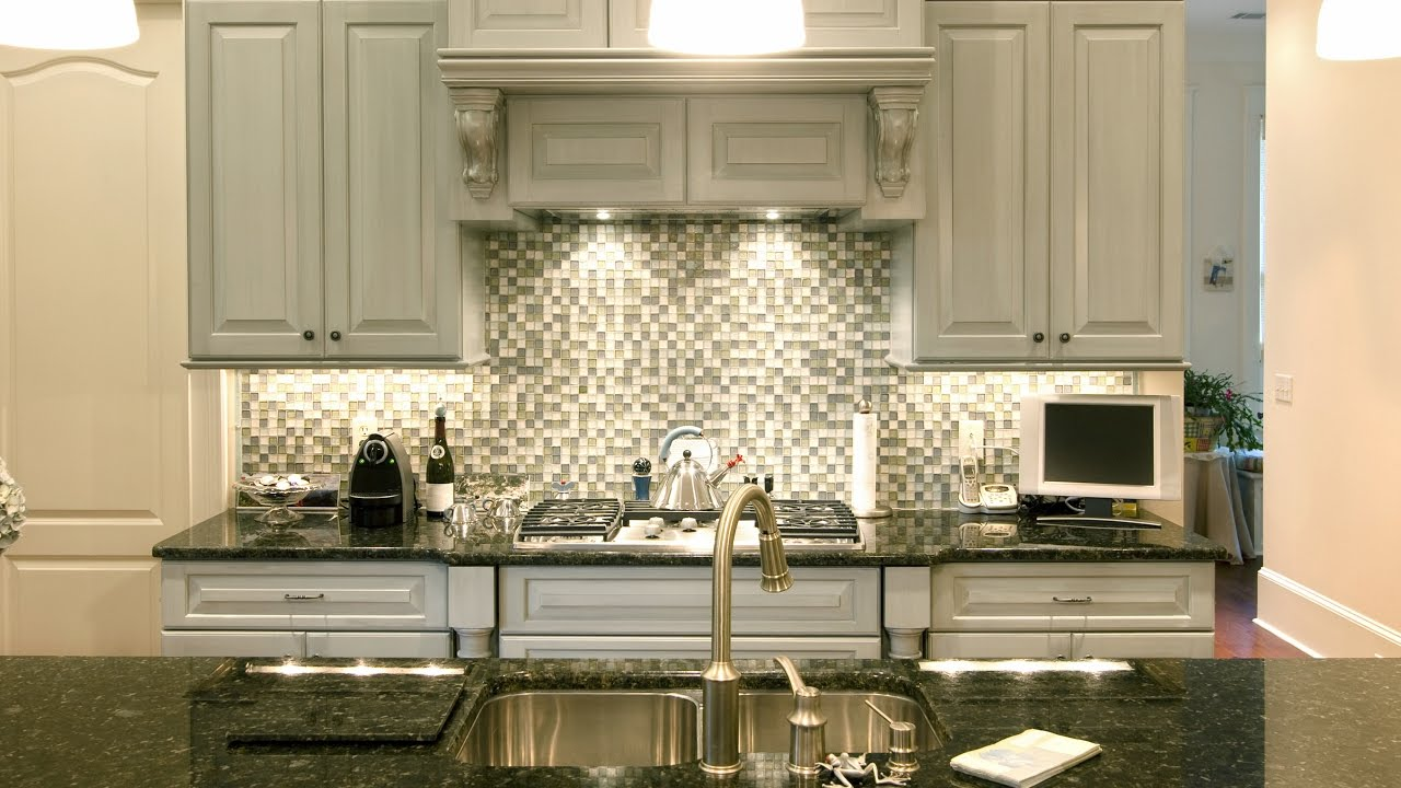 - The Best Backsplash Ideas For Black Granite Countertops - YouTube