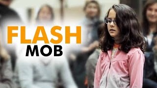 Download lagu AMAZING - Flash Mob -  Started by one little girl -  Ode to Joy