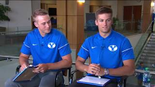BYU Football Media Day Web Chats - Gunner and Baylor Romney - Full Interview 6.18.19