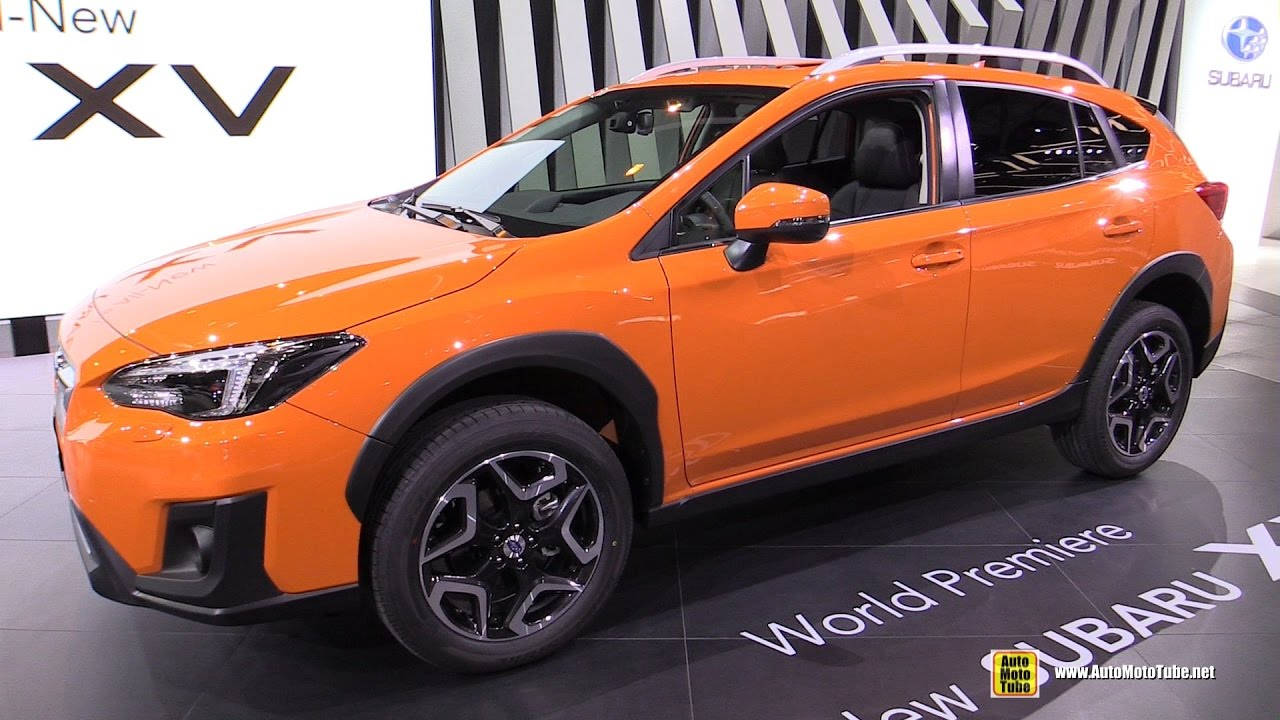 2018 subaru crosstrek orange.  orange 2018 subaru xv  exterior and interior walkaround debut at 2017 geneva  motor show in subaru crosstrek orange