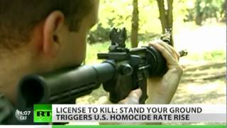 License to Kill: Justifiable homicide booms in US