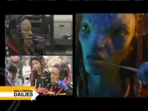 Avatar's James Cameron and stars 8 Sam Worthington and Zoe