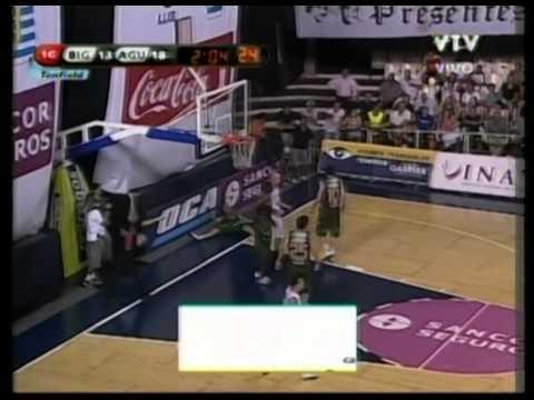 Michael Sweetney, 1st Qtr (pt2) - (Atletico Biguá) - 02-17-11