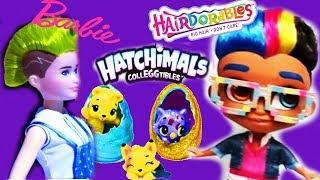 НОВИНКИ игрушек с выставки TOY FAIR Barbie Mattel, LOL, Hatchimals, Hairdorables мальчики,  Disney