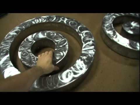 Welded Metal Art Rings