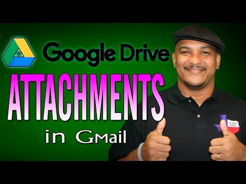Send Google Drive Attachments In Gmail