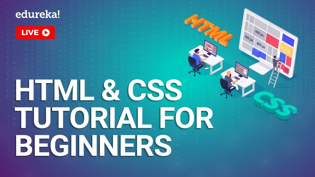 HTML and CSS Tutorial for Beginners | HTML and CSS | HTML CSS Tutorial