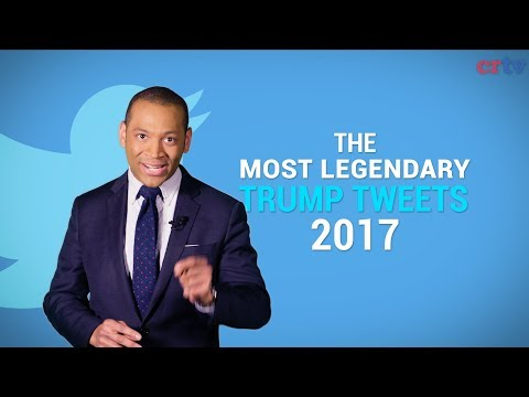 The MOST LEGENDARY Trump Tweets of 2017!