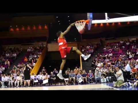 Perth Wildcats - Jaron Johnson Dunk Competition