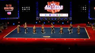 2015 NCA Cheer Athletics Wildcats Day 2