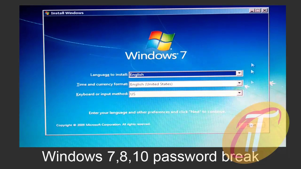 hack windows 8 password without software