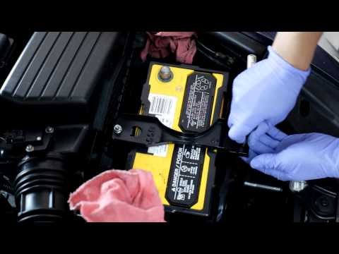 2003-2007 Honda Accord battery replacement