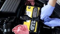 2003-2007 Honda Accord battery replacement
