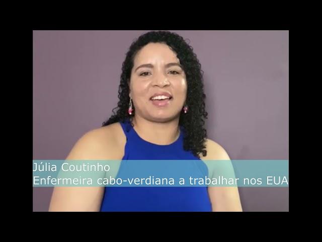 Entrevista Balai Cabo Verde: Júlia Coutinho, enfermeira cabo-verdiana a trabalhar nos EUA