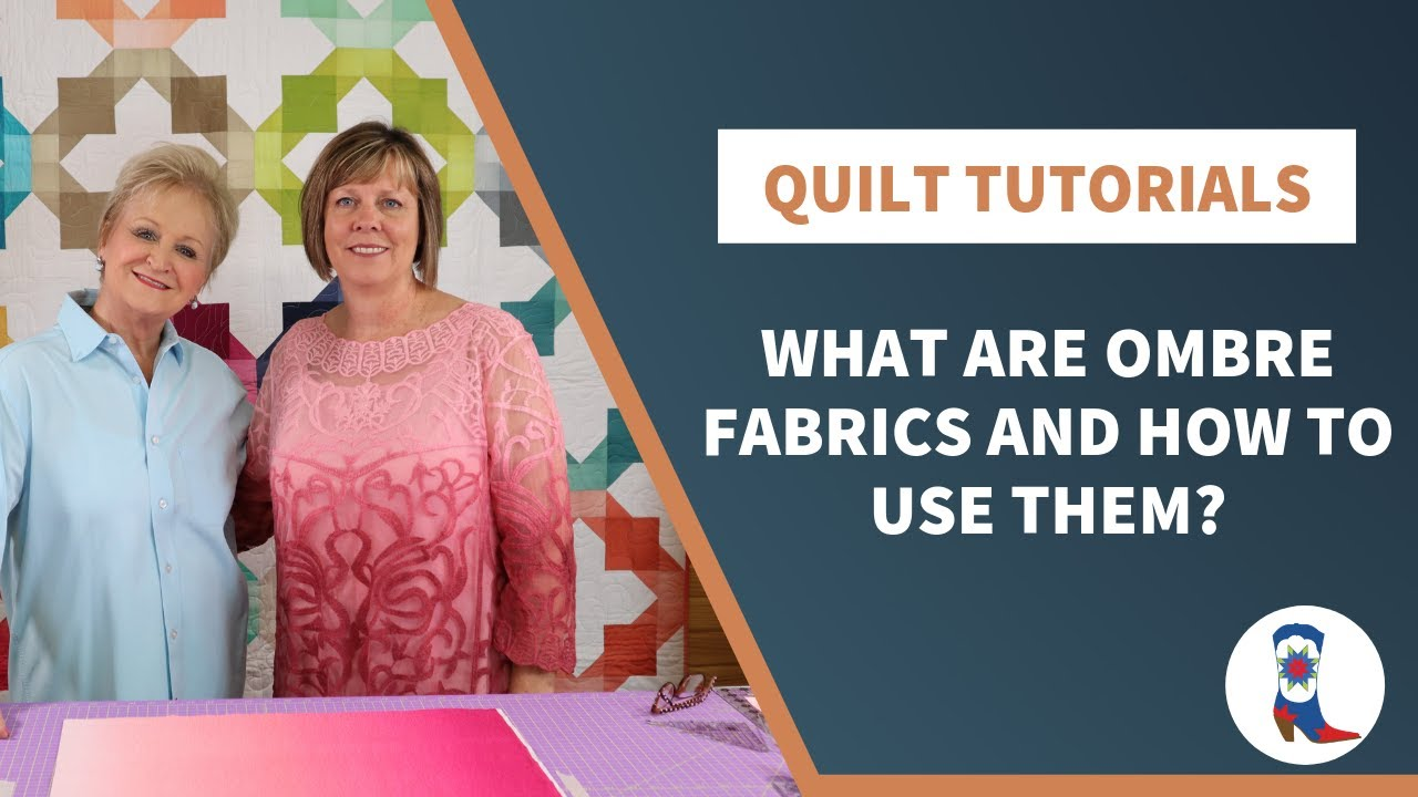 "What are ""Ombre Fabrics"" and how to use them?"
